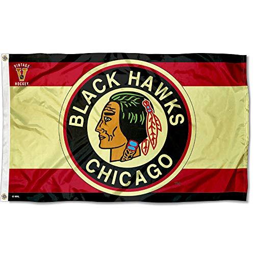 WinCraft Chicago Blackhawks Vintage Throwback Flag