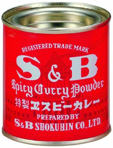 エスビー食品 S&B 赤缶カレー粉 37g缶×10個入