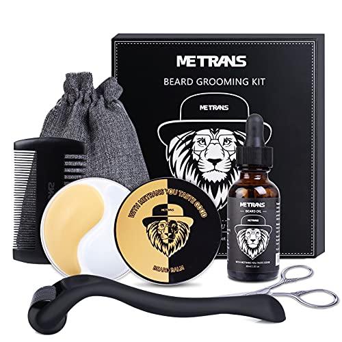 kit barba hombre crecimiento Marca METRANS