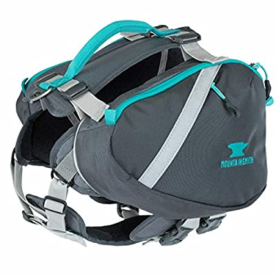 Mountainsmith K-9 Dog Pack, Medium Hiking Pack (Caribe Blue)