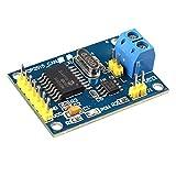 HALJIA Módulo con controlador MCP2515 bus CAN, interfaz SPI y transceptor TJA1050 Compatible con Arduino, Raspberry Pi, 51, ARM, AVR, etc.