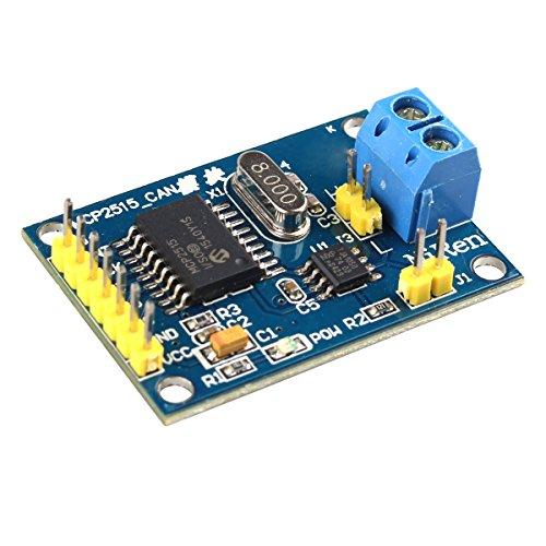 HALJIA MCP2515 CAN Bus Module TJA1050 Receiver SPI Module Compatible with Arduino Raspberry Pi 51 ARM AVR DIY etc.