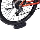 Soporte de Rueda Delantera de Bicicleta de Ciclismo,Bloque de Elevador de Rueda Delantera de Ciclismo Soporte para Entrenador de Bicicleta Entrenador Turbo para Entrenamiento de Bicicleta de Interior