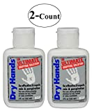 2 Packs of Nelson Sports Products Dry Hands 2-Ounce Ultimate Gripping Solution (2 PackS)