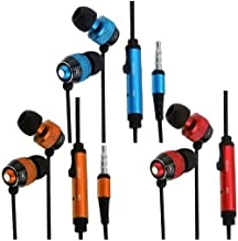 EpicDealz 3 Pack In-Ear Earphone Earbud + Mic Compatible with Apple iPhone 6 6S Plus SE 5 5S 5C4G 4GS