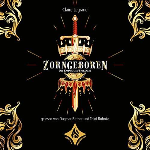 Zorngeboren audiobook cover art