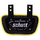 Schutt Sports Football Backplate for Shoulder Pads, Youth, Neon Yellow