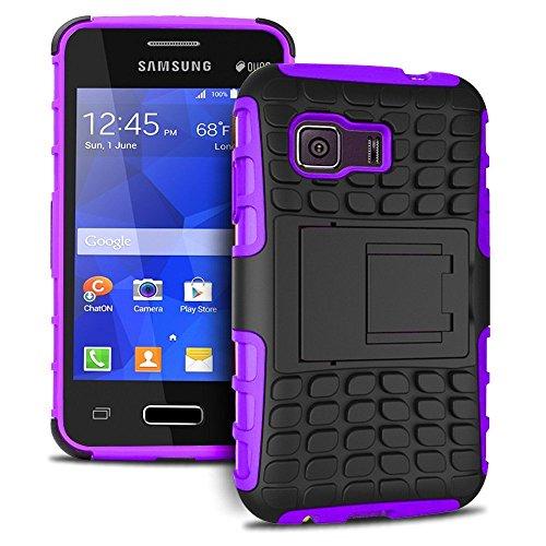 [SCIMIN] Galaxy Young 2 caso, resistente semiflexible plàstico // resistencia híbrido cubierta resistente gota para Samsung Galaxy Young 2 G130