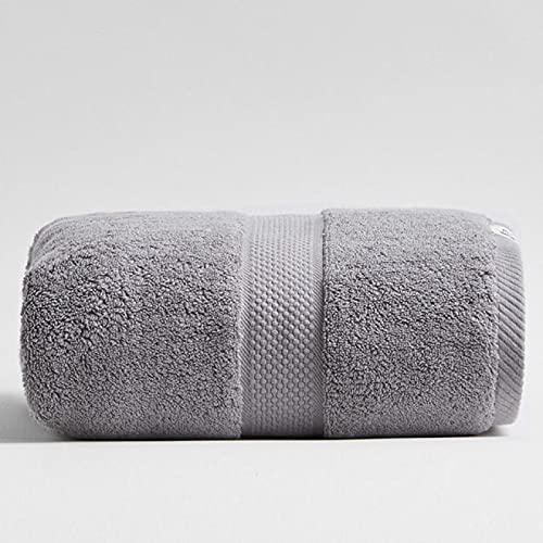 Toalla de baño de microfibra de 80 x 160 cm, 800 g de grosor, de algodón puro, protección del medio ambiente, toalla de playa para adultos