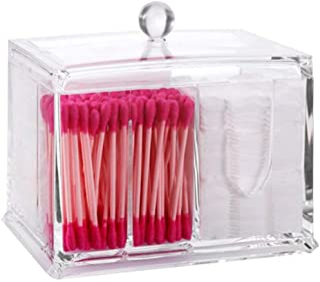 Cajita de almacenaje de PuTwo para bastoncillos de algodón