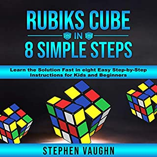 Rubiks Cube in 8 Simple Steps audiobook cover art
