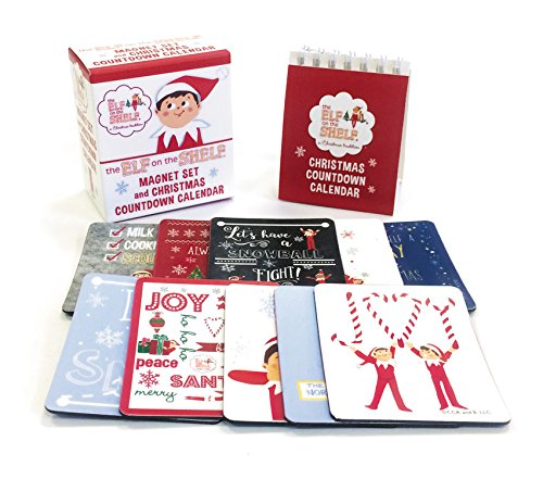 The Elf on the Shelf: Magnet Set and Christmas Countdown Calendar (RP Minis)