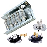 279838 Dryer Heating Element 3977767 Dryer Heating Element Kit 3387134 Dryer Thermostat & 3977393 Thermal Fuse Compatible Fit For Whirlpool & Kenmore & maytag dryer heating element