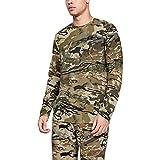 Under Armour Sc Camo Live Long-sleeve T-shirt, Ua Barren Camo (999)/Black, 3X-Large