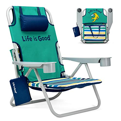 Life is Good Beach Chair