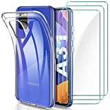 YNMAacc Hülle für Samsung Galaxy A31 Hülle, [3 Stück]