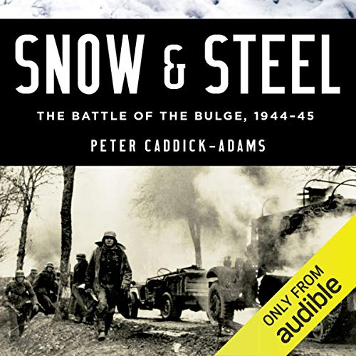 Snow & Steel audiobook cover art
