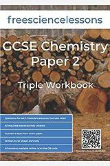 Freesciencelessons GCSE Chemistry Paper 2: Triple Workbook (Freesciencelessons GCSE Triple Science) Paperback