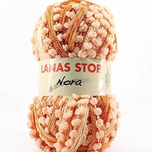 Lanas Stop Nora ESTAM Ovillo de Color Salmon Cod.234