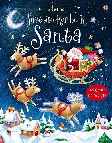 Taplin, S: First Sticker Book: Santa (First Sticker Books series)