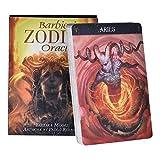 YMFZYM Barbieri Zodiac Oracle Tarot, 26 Cards Deck Mysterious Guidance Divination Fate, Table Game Entertainment