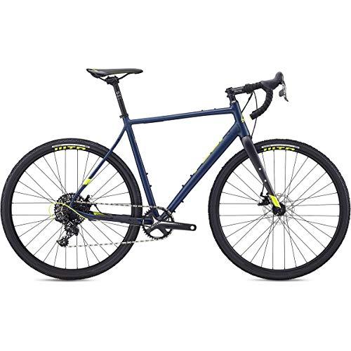 Fuji Jari 1.3 Adventure Road Bike 2020 - Bicicleta de Carretera (52 cm, 700 c), Color Azul Marino