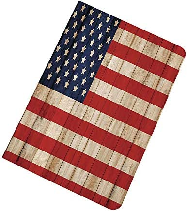Rustic American USA Flag iPad Air 2 iPad Air Case Fourth of July Independence Day Damaged Wooden product image