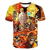 ZZDYRSRE Novedad Divertida Camiseta de impresión 3D-D_XL