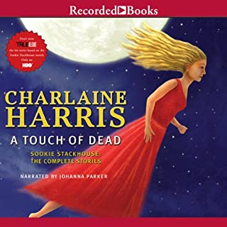 A Touch of Dead audiobook cover art