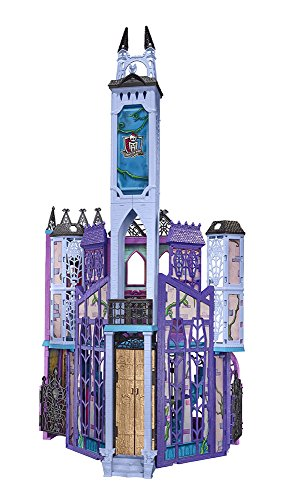 Mattel Monster High DMF91 Mega Monsterschule Refresh, 19 x 71,1 x 57,2 cm