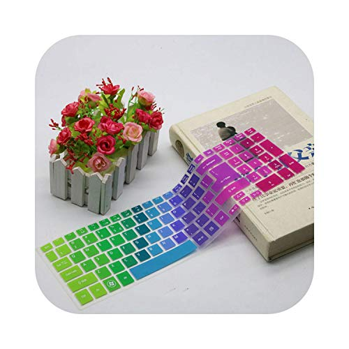 Protector de teclado de 15,6 pulgadas para Acer Aspire E5-571G V3-551G V3-572G v3-571g V3-772G E5-572G E1-572G-Rainbow-