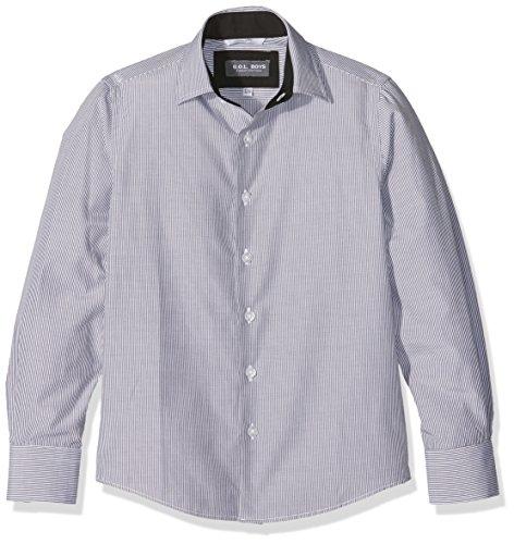 G.O.L. Jungen Hemd mit Eton-Kragen, Blau (Black 2), 152