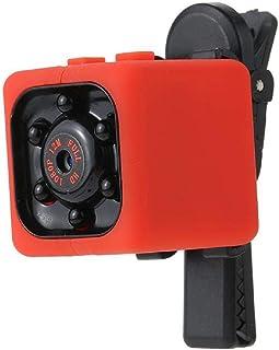GreatFun Mini cámara Oculta 1920 x 1082P Cámara de niñera de Seguridad para el Video Ultra Clara Detección de Movimiento Cámara de vigilancia inalámbrica portátil para visión Nocturna súper Peque