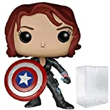 Marvel: Avengers 2 Age of Ultron - Black Widow with Captain America's Shield Funko Pop! Vinyl Figure...