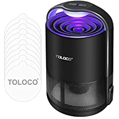 Easy to Operate: Only need to press catching button, the mosquito trap will start working Smart Band Change Mode: Press catching button add light button enter smart band change mode , total of 7 wavelengths Due to human are more attracted to the mosq...