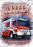 KE Geburtstags-Karte mit Sound-Effekt - Klapp-Karte mit Musik inkl. Umschlag - Sound-Karte - Musik-Karte - Gruß-Karte Format DIN B6 - Motiv: Feuerwehr
