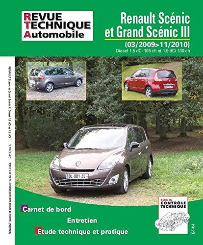 Renault Scénic et Grand Scénic III - 03-2009>11-2010