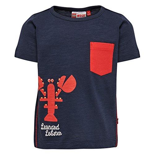 Lego Wear Duplo Boy Tyler 307-T-SHIRT T-Shirt, Blau (Dark Navy 589), 4 Ans Bébé garçon
