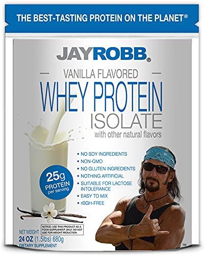 Jay Robb Whey Vanilla Isolate Protein Powder
