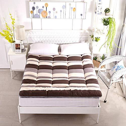 zlzty Memory Foam matras, eenpersoonsbed, tatami-mat, matras opvouwbare slaapmat, traagschuim, matras, topper tweepersoonsbed