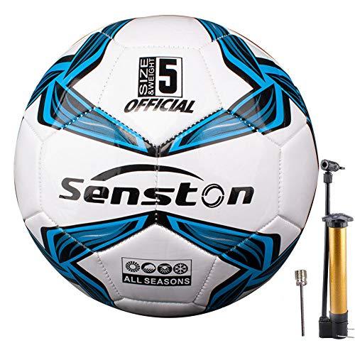 Senston Fußball Ball Wasserdicht Sport Training Ball Freizeitbälle für Fußbälle