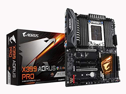 GIGABYTE X399 AORUS PRO (AMD Ryzen Thread Ripper TR4/ATX /3X M.2/Front USB 3.1 Type...