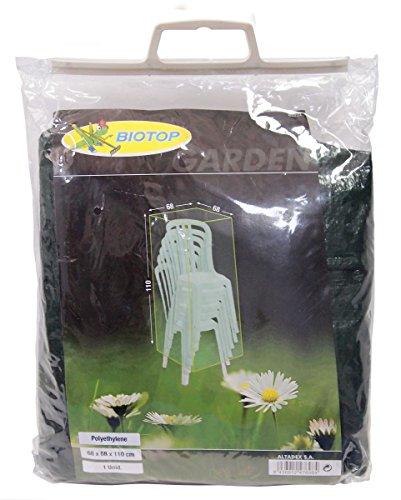 Biotop B2224 Funda Cubre sillas, Verde, 68x68x110 cm