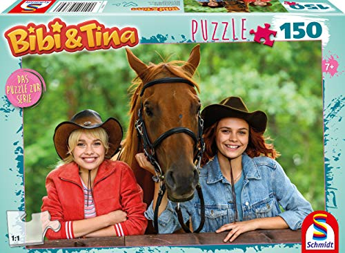 Schmidt Spiele- Puzzle Infantil (150 Piezas), diseño de Bibi y Tina (56364)