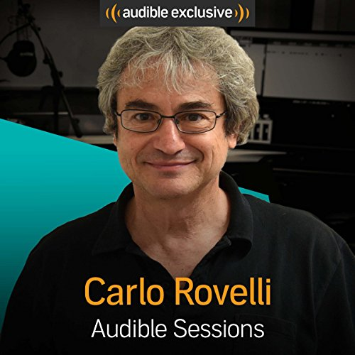 Carlo Rovelli audiobook cover art