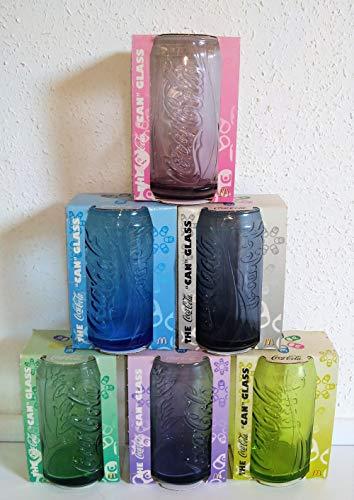 rofu Coca-Cola/2008/Juego de 6 vasos de Coca-Cola/Mc Donald's/Holland