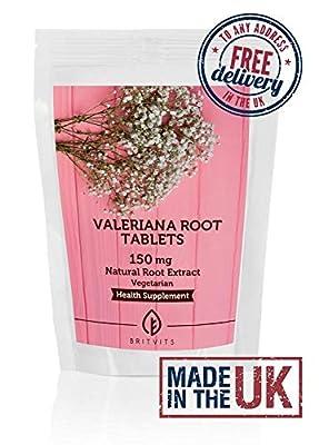 Valeriana Root Extract x120 Extract 150mg Tablets Pills