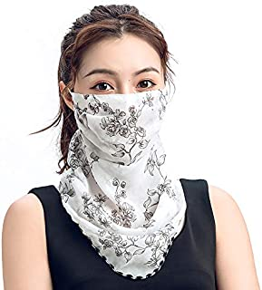 UV Protection Face Scarf Mask Summer Neck Gaiters Printed Balaclavas for Outdoor