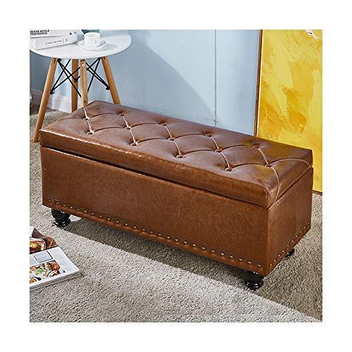 SXGKY - Abdeckhauben für Hocker in Brown, Größe 90x40x43cm