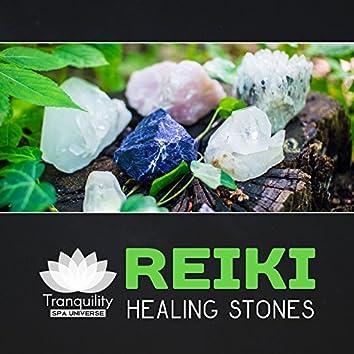 Reiki Healing Stones – Day Spa, Zen & Massage, Soothing Attunement Sounds, Blissful Touch, Energy Chakra Balance